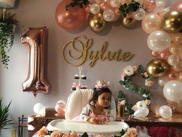Monte a festa de 1 aninho da sua filha!