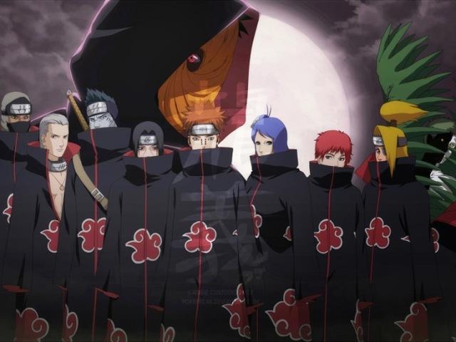 Com quem da Akatsuki você formaria um time?