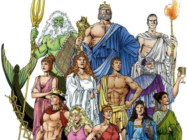 De que deus da mitologia grega você é filho(a)?
