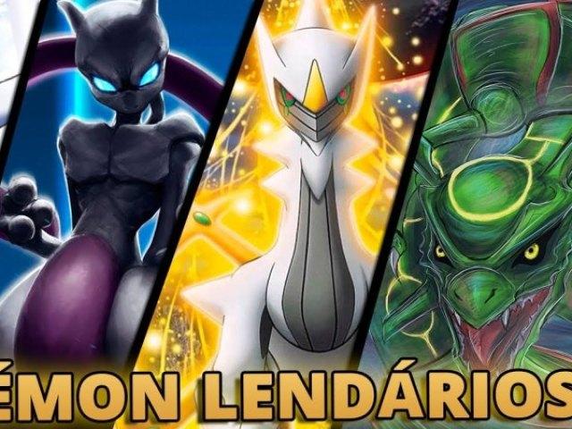 Qual Pokémon lendário você é?
