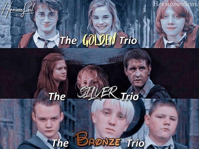 Harry Potter: A qual trio você pertenceria?