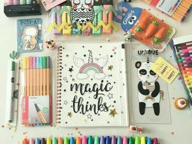 📚Escolha seu material escolar dos sonhos