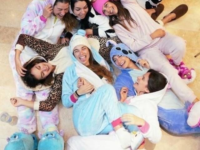 Monte sua festa do pijama