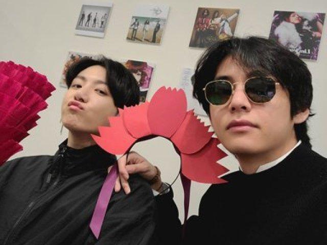 Você é o Jk ou o Taehyung?