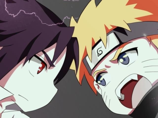 Você é mais Naruto ou Sasuke? ❤