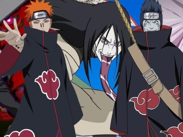 Qual vilão de Naruto você seria?