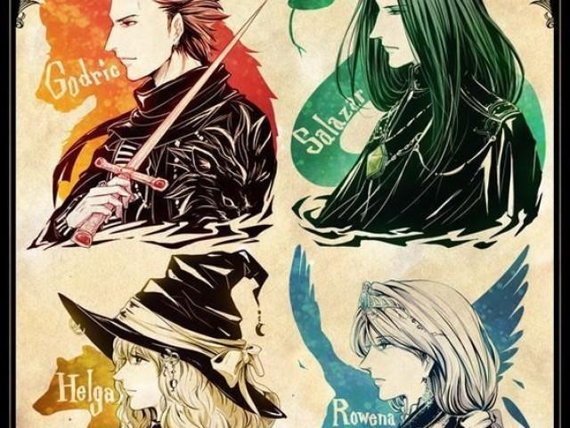 Qual fundador de Hogwarts você é?