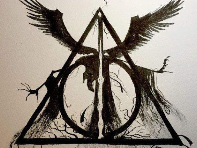 HP: Qual das relíquias da morte você seria?