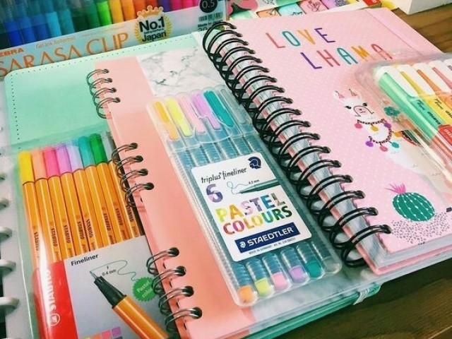 Monte seu material escolar 2021!