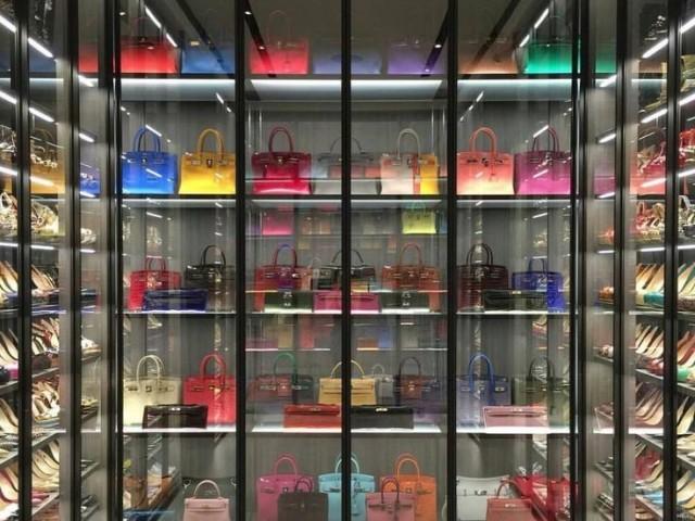 Monte sua coleção de bolsas