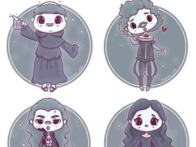 Qual fantasma de Hogwarts você seria?