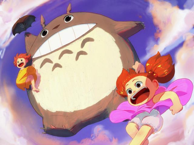 Qual destes filmes você conhece do Studio Ghibli?
