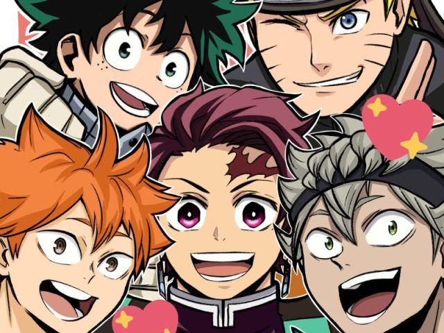 Qual protagonista de anime você seria