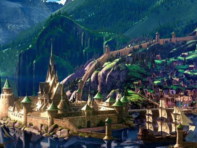 Monte sua casa e descubra qual lugar da Disney/Pixar você iria morar!