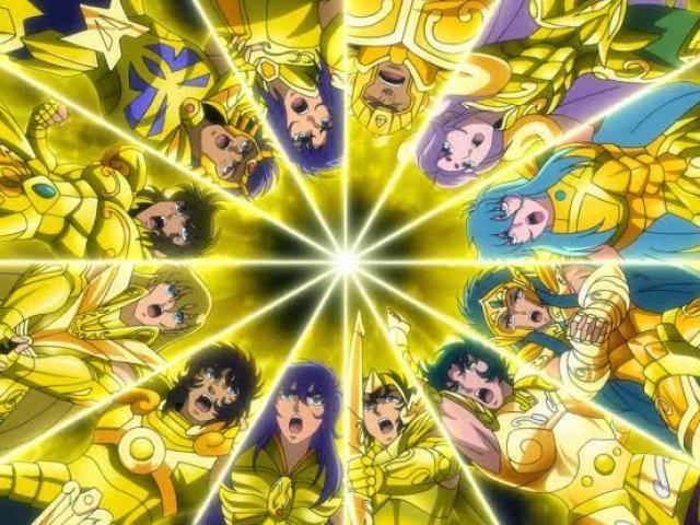 Quem é você nos Cavaleiros de Ouro?