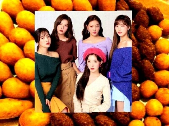 °Quem do Red Velvet te pagaria um salgado? °