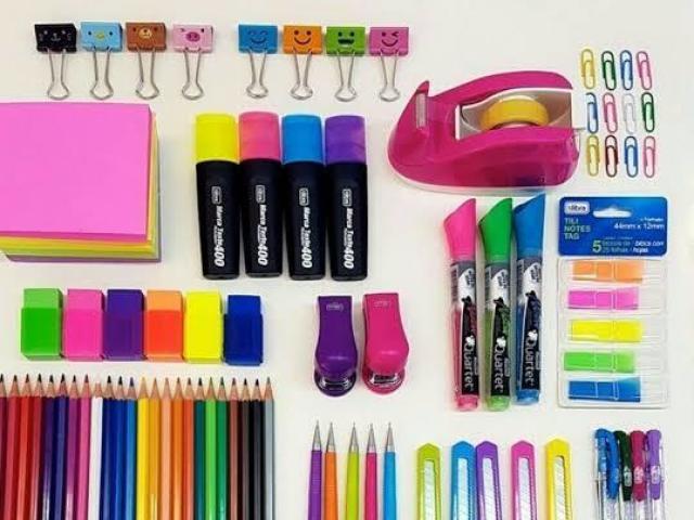 Qual é seu estilo de material escolar?