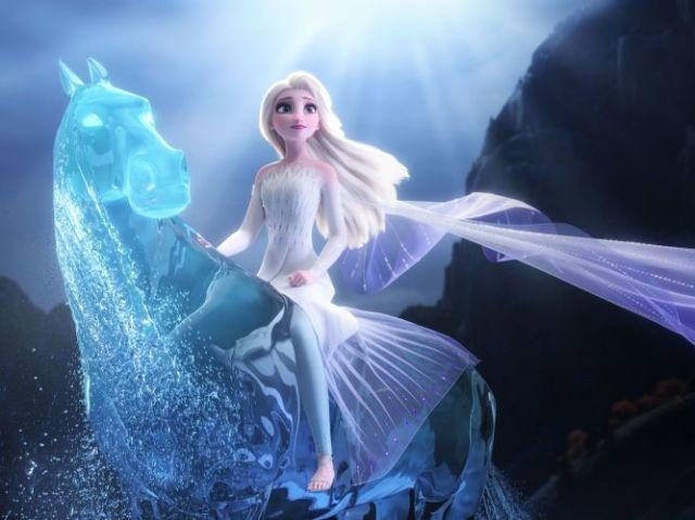 Qual elemento você representaria em Frozen 2?