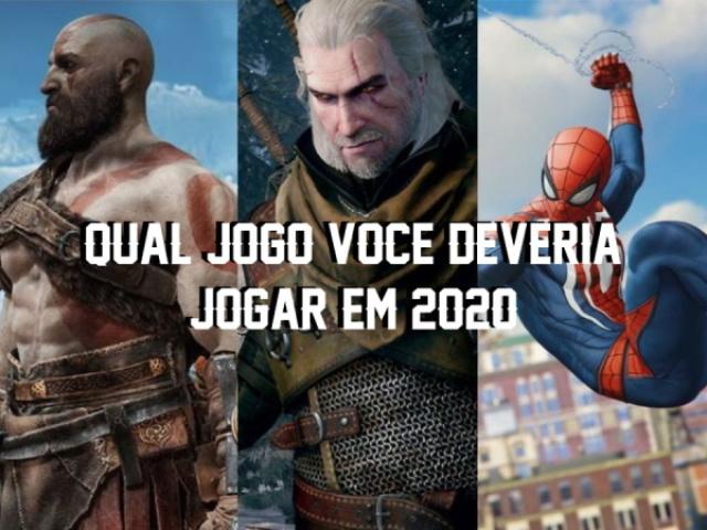 🎮 Qual jogo você deveria jogar em 2020?
