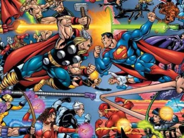 Será que você conhece o mundo dos heróis?