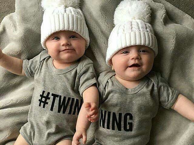 Se você tivesse gêmeos qual seria o nome deles?
