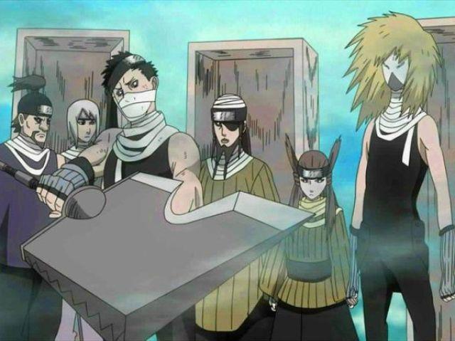Naruto: Qual dos Sete Espadachins da Névoa você seria?
