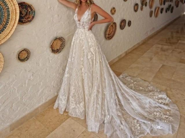 Como seria seu vestido de noiv@?