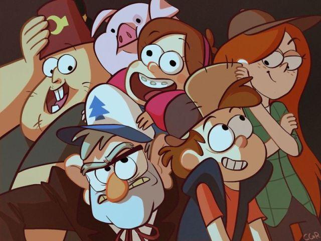 ~Qual Personagem De Gravity Falls Você Seria?