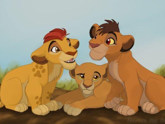 Qual dos filhos do Simba você é?