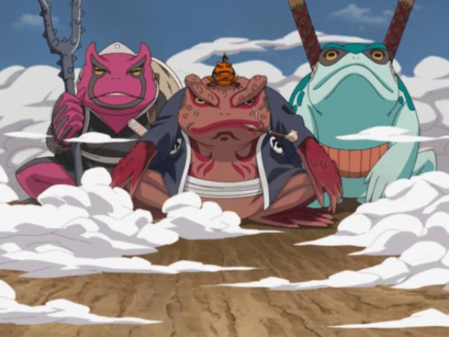 Qual animal você invocaria em Naruto?