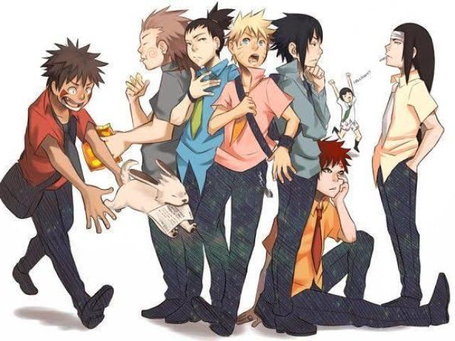 Quem seria seu namorado em Naruto?