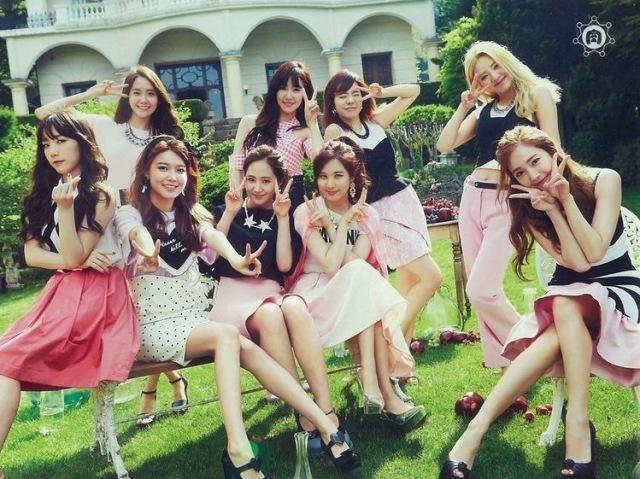 Quais seriam suas melhores amigas do grupo Girls Generation?