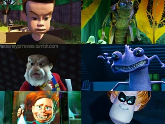 Que Vilão da Pixar você seria?