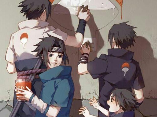 Qual fase do Sasuke melhor te representa?