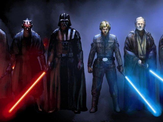 Você seria Jedi ou Sith?