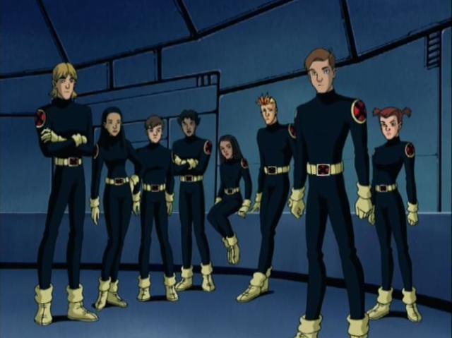 Quem sou dos Novos Mutantes em X-Men Evolution Grupo 2?