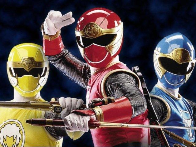 Quem você é em Power Rangers Ninja Storm?