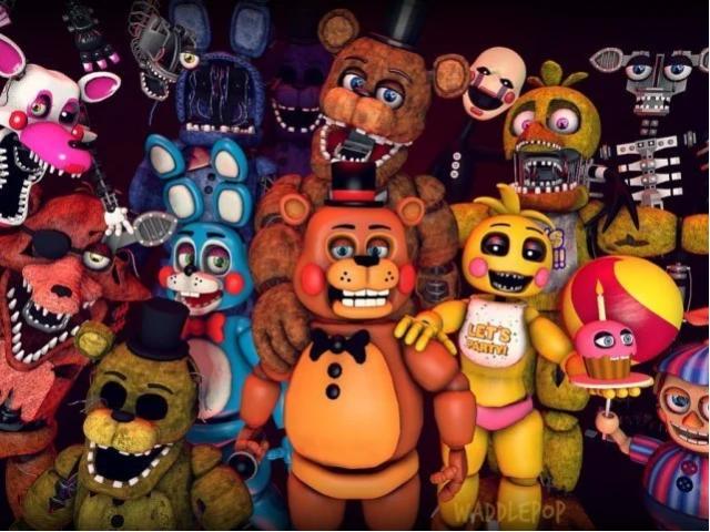 Qual personagem de Five Nights at Freddy's você é?