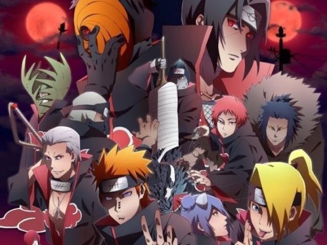 Quem você seria da Akatsuki?