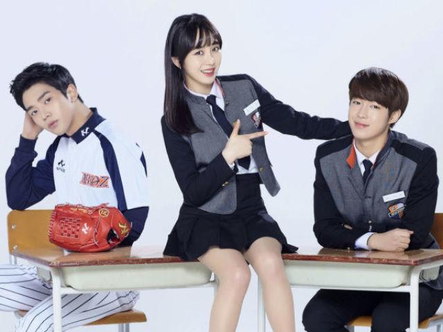 Monte o seu dorama e descubra qual k-idol seria seu par romântico nele!