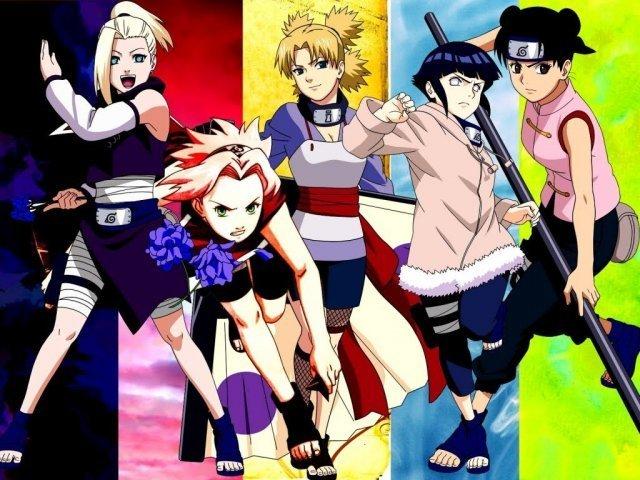 Que mulher você seria de Naruto