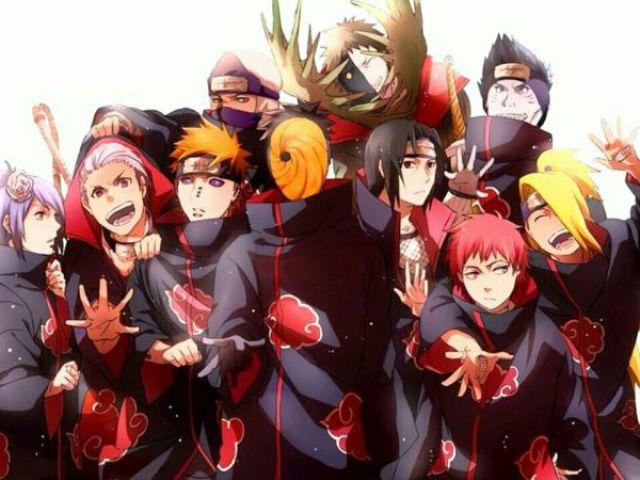 Naruto: Você conhece a Akatsuki? Descubra!