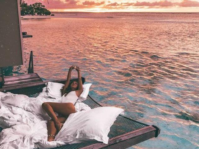 Monte suas férias nas Bahamas