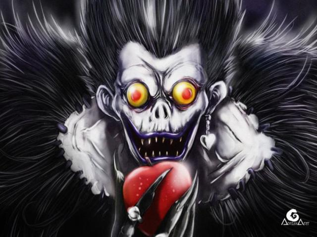 Qual personagem você seria em Death Note?