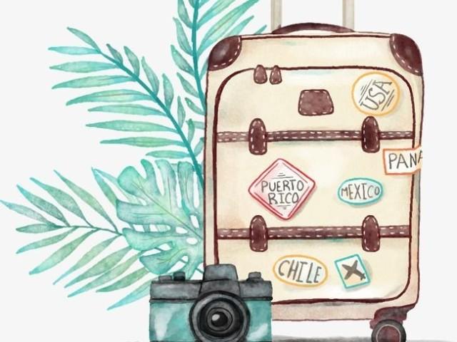 Monte a sua mala ✈️