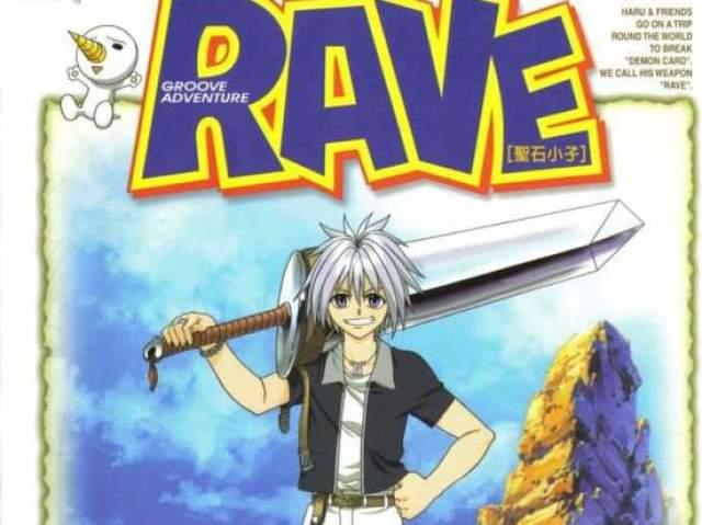 Você conhece o Anime Rave Master?