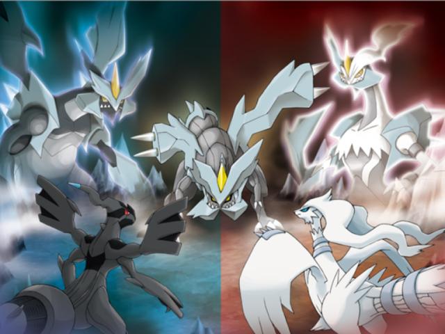 Pokémon Black e Black 2 ou Pokémon White e White 2?