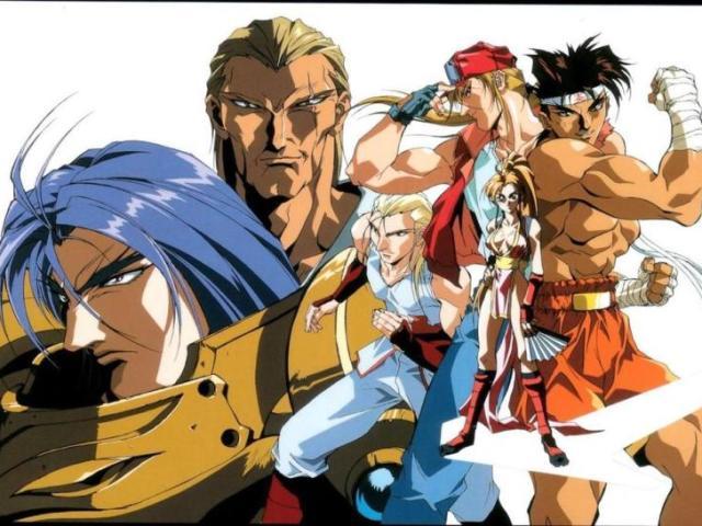 Quem já assistiu os animes de Fatal Fury?