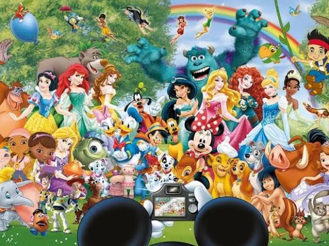 Você conhece as animações da Disney?