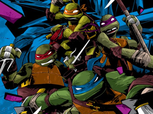 Quem você é em As Tartarugas Ninja?